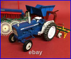 1970's Britains 1/32 Ford 5000 Tractors Trailers & Implements Collection