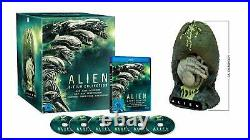 ALIEN 1 2 3 4 5 6 Collection + große schwere EI FIGUR Büste BLU-RAY BOX Aliens