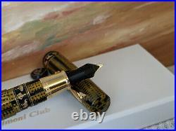 ASC by OMAS Bespoke Bologna Extra Burkina Limited Edition Fountain Pen, NOS