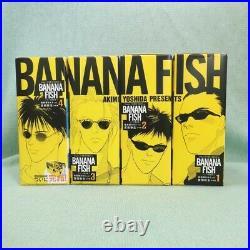 BANANA FISH Reprint Version 1- 4 BOX Completion set Special Edition