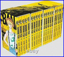 BANANA FISH Reprint Version 1- 4 BOX Completion set Special Edition Free Ship