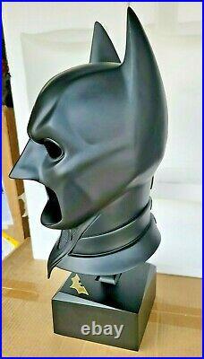 BATMAN DARK Knight Special Edition COWL 11 Life Size PROP REPLICA Statue Bust