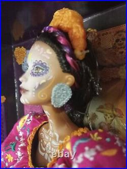 Barbie Dia De Los Muertos(Day of The Dead) Doll Mattel 2021 Collectible #GXL27