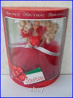 Barbie happy holidays passion gran gala collector collection doll new 1988 1703