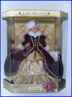 Barbie happy holidays special edition 1996 collection collector doll NRFB 15646