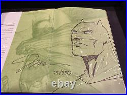 Batman Hush Absolute Jim Lee Signed Sketch Remarque Dynamic Forces /250 RARE