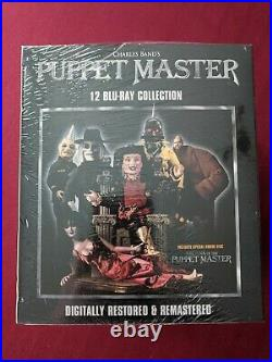 (Blu-ray) PUPPET MASTER 12 BLU-RAY COLLECTION (Digitally Restored Boxset)