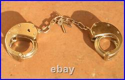 CLEJUSO No 15 SPECIAL EDITION 20 cm Kette Handschellen handcuff Made in Germany
