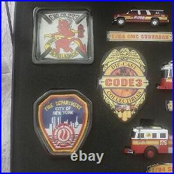Code 3 Collectibles FDNY Battalion 44 LIMITED EDITION SET IN BOX #1789 Of 5000