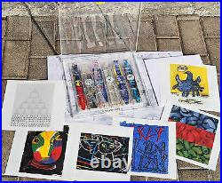 Cofanetto speciale 6 SWATCH ARTIST COLLECTION special edition NUOVI con stampe