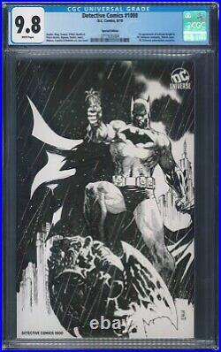 Detective Comics #1000 Special Edition Variant CGC 9.8 NM/M Jim Lee Cover