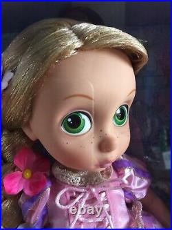 Disney Store Special Edition Rare Rapunzel Animator Doll Light Up Collectible