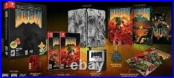 Doom The Classics Collection Special Edition Presale Nintendo Switch Limited Run