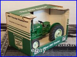 Ertl Oliver 550 1/16 Die-cast Farm Tractor Replica Collectible By Spec Cast