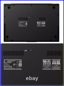 Evangelion Special Limited Edition Design Fujitsu Laptop 13 KuaL LIFEBOOK Black