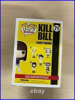 Funko Pop! Movies Kill Bill Bloody Gogo Yubari Entertainment Earth Excl #71