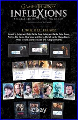 Game of Thrones Inflexions Special Edition Factory Sealed US HOBBY Case 20 Box
