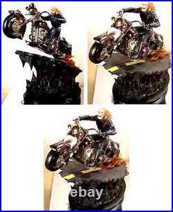 Ghost Rider Black Chrome Variant Statue Bowen Designs Marvel Comics 2004 Special