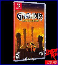 Grandia HD Collection 1 + 2 (Nintendo Switch 2020) Limited Run Games #80 SEALED