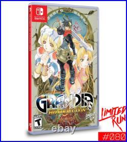 Grandia HD Collection Nintendo Switch Limited Run #080 RPG Adventure NEW