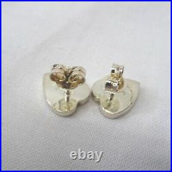Gucci Earrings One Ear Heart Silver Limited Edition Series Collection Special 30