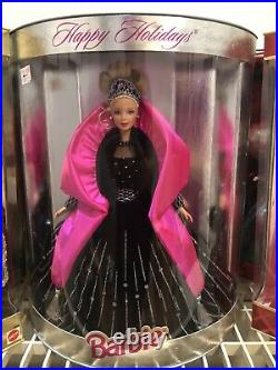 Holiday Barbie Collection 1988-1998