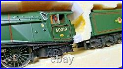 Hornby R3103 LNER 4-6-2 A4 Steam Locomotive Bittern Double Tender 60019 DCC R OO