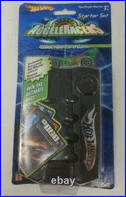Hot Wheels Acceleracers Collectible Card Game Starter Set with Green Synkro 2004