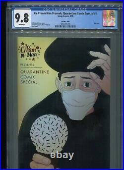 Ice Cream Man Presents Quarantine Comix Special #1 9.8 FOIL Thank You variant