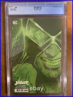 Joker 2 CGC 9.8 Hairsine 150 Santa Prisca Variant 1st Vengeance Bane