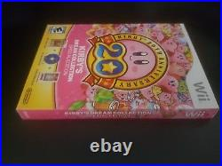Kirby's Dream Collection Special Edition Wii Nintendo Wii 2012 Brand New