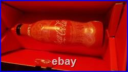 Limited special edition RARE Coca Cola contourglass with box 50 years Hungary