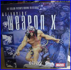 MARVEL MILESTONES WOLVERINE Weapon X SPECIAL EDITION STATUE #154/500 NEW! X-MEN