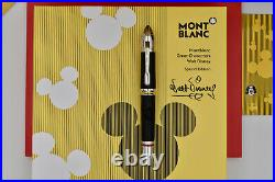 MONTBLANC 2019 Great Characters Walt Disney Special Edition Fountain Pen M