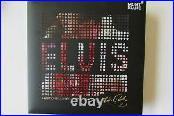 MONTBLANC GREAT CHARECTER ELVIS PRESLEY SPECIAL Edition BALLPOINT PEN 125506 NEW