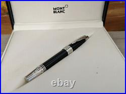 MONTBLANC Great Characters Dark Blue Special Edition J. F. Kennedy Fountain Pen