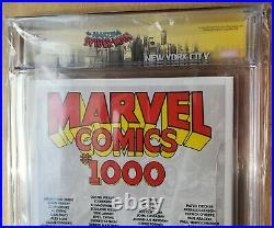 Marvel Comics #1000 150 Clayton Crain Variant CGC SS 9.9 Limited NYC Label