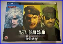 Metal Gear Solid HD Collection Limited Edition PS3 NEW SEALED RARE