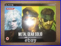 Metal Gear Solid HD Collection Limited Edition PS3 new sealed pal version