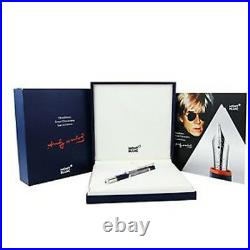 Montblanc Great Characters Special Edition Andy Warhol Fountain Pen #112716