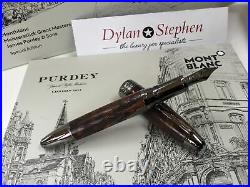 Montblanc Great Masters James Purdey & sons special edition fountain pen NEW