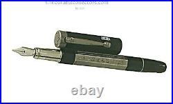 Montblanc Heritage Egyptomania Silver Octagonal Special Edition Fountain Pen