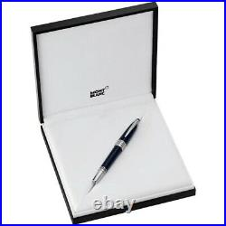Montblanc John F Kennedy JFK Special Edition Blue Silver Rollerball Pen 111047
