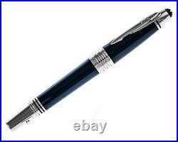 Montblanc John F. Kennedy Special Edition Dark Blue Resin M Fountain Pen 111045