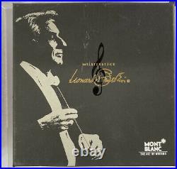 Montblanc Special Edition Leonard Bernstein 4810 Fountain Pen with 18k nib In Box