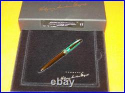 Montblanc Special Edition Pencil 1996 Malachite Nikolai Mozart Pencil New In Box