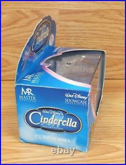 Mr. Master Replica Walt Disney's Cinderella Special Edition Glass Slipper NOS