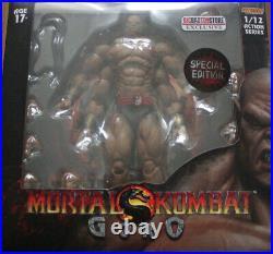 NEU Goro Storm Collectibles Mortal Kombat MK1 Special Edition Bloody ActionFigur