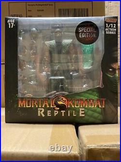 NEW STORM COLLECTIBLES Mortal Kombat Reptile 1/12 figure Special Edition Bloody