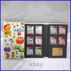 NINTENDO 20th Anniversary Famicom Mini Collection BOX set of 3 30-piece